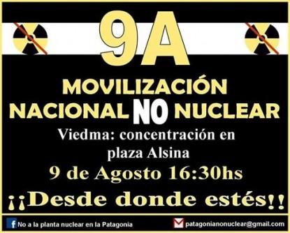 movilizacion, planta nuclear