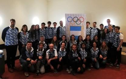 rio negro deportes, Delegación Argentina Lausana