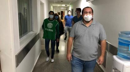 Rodrigo Vicente, hospital, Coronavirus