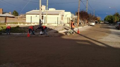 trabajo calles municipio