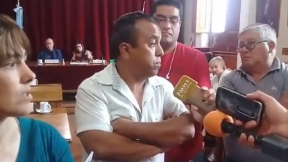 PATAGONES, MUNICIPALES, PROTESTA, VERONICA ORTIZ, gustavo paleta, JESUS MARTINEZ