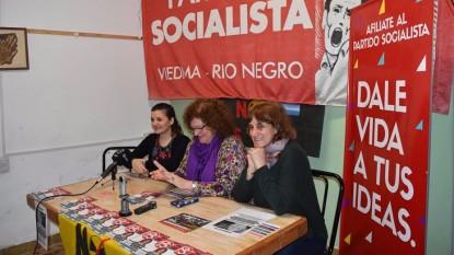partido socialista, mariana arregui, luz riera, Silvia Augsburger