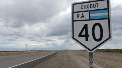 ruta 40, chubut