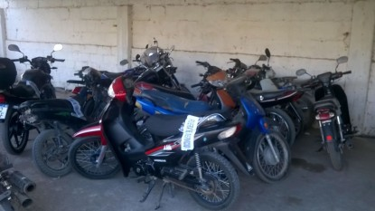 motos secuestradas