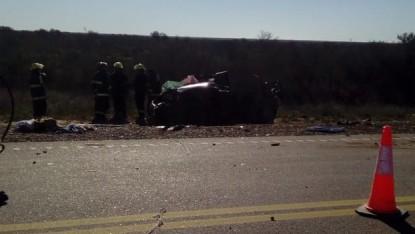 accidente fatal, ruta 251