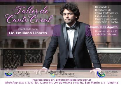 TALLER, coros, emiliano linares