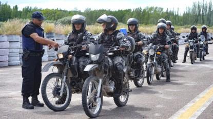 policias, motos