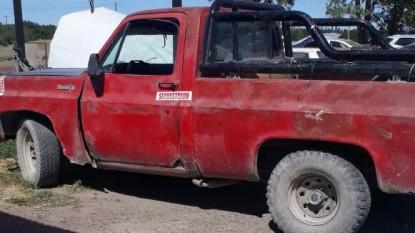 secuestro, camioneta