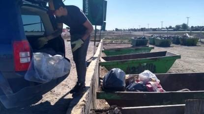 deposito voluntario de residuos