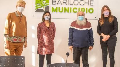 silvina garcia larraburu, Ayelén Spósito, Emilio Pérsico, Ornella Infante