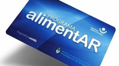 AlimentAR, Ministerio de Desarrollo Social de la Nación