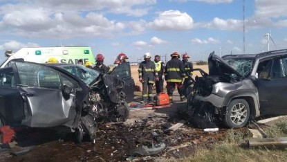 ruta 3, VILLALONGA, parque eolico, accidente fatal