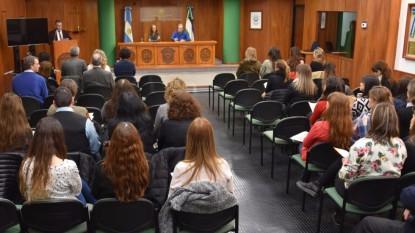 charla taller buenas conductas poder judicial