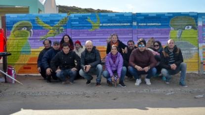 mario sabbatella, mural, el condor