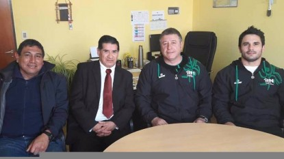 marcelo szczygol, equipo judo rionegro