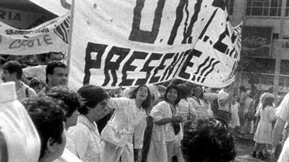 Unter, marcha blanca, 1988