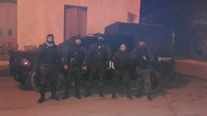 policia, PATAGONES, GAD, GRUPO DE APOYO DEPARTAMENTAL