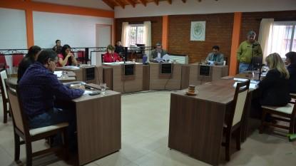 Concejo Deliberante, el bolson, sesion