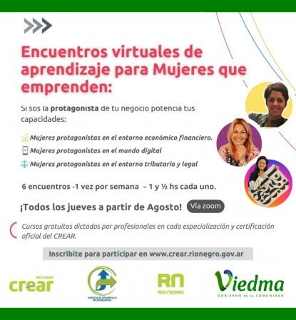 encuentro virtual mujeres