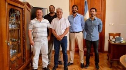 JOSE LUIS ZARA, VILLA DOLORES, COMISION DE FOMENTO, Nicolás Leiboff