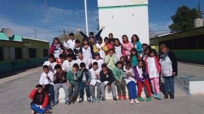 alumnos escuela valcheta