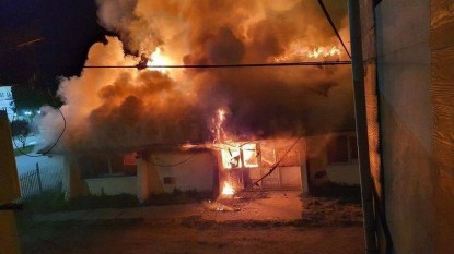 Club Andino Piltiquitrón, incendio