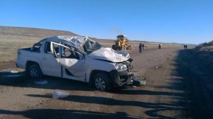 accidente fatal, ruta 23