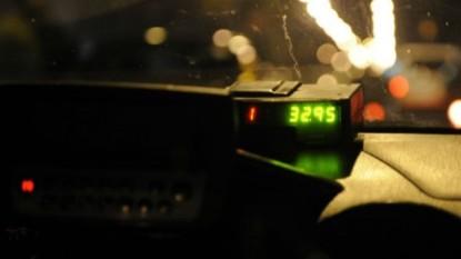 taxi, noche