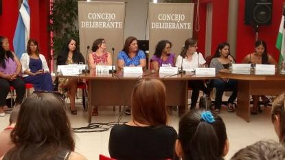 CONSEJO DE LA MUJER, viedma, candidatas
