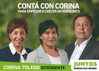 ñorquinco, CORINA TOLEDO