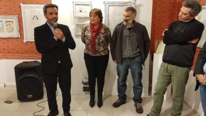 ariel ávalos, EXPOSICION, Pablo Carancini, LANDRU, José María Gutiérrez, Mónica Larrañaga