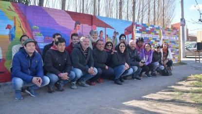 mario sabbatella, mural