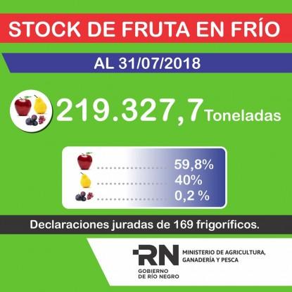 frutas, stock
