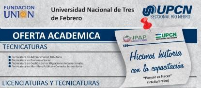 upcn, UNIVERSIDAD DE TRES DE FEBRERO