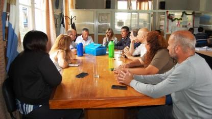 comision de obras, Concejo Deliberante, san antonio