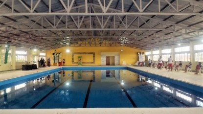 los menucos, natatorio