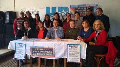 jorge molina, Edgardo Straini, Frente de los Trabajadores de la Educación
