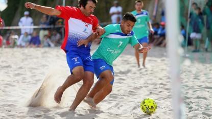 futbol, playa, JUEGOS