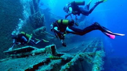 Las Grutas, buceo, parque subacuatico