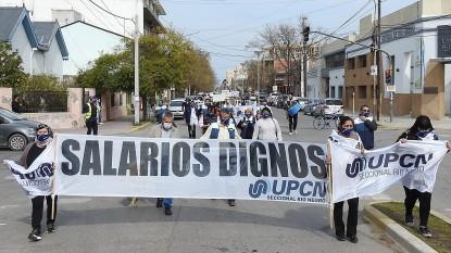 upcn, marcha, movilizacion