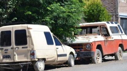 allen, vehiculos abandonados