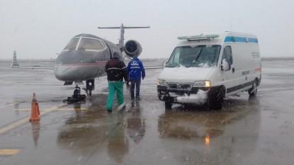 el bolson, ambulancia