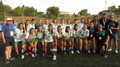 futbol femenino, juegos de la araucania