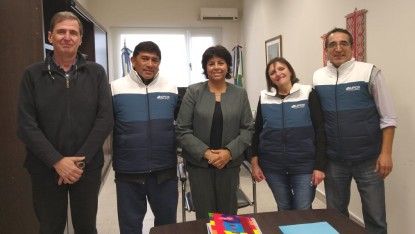 Héctor Barrionuevo, martha velez, Edgardo Tucat, Julio Payalef, Stella Maris Calá