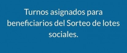 lotes sociales