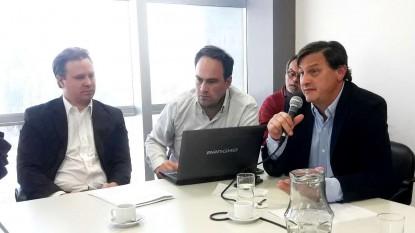 Andrés Barresi, Miguel Ángel Cruz, Hernán Santoli