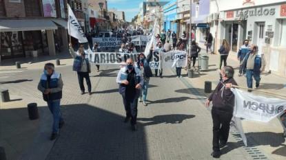 upcn, marcha, manifestacion, reclamo