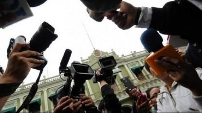 trabajadores de prensa