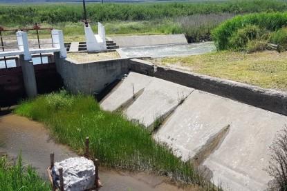 valle medio, agua, reparacion