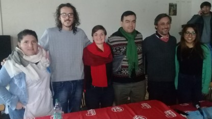 mariana arregui, paolo etchepareborada, matias chironi, Encuentro Progresista y Popular, julian arribas